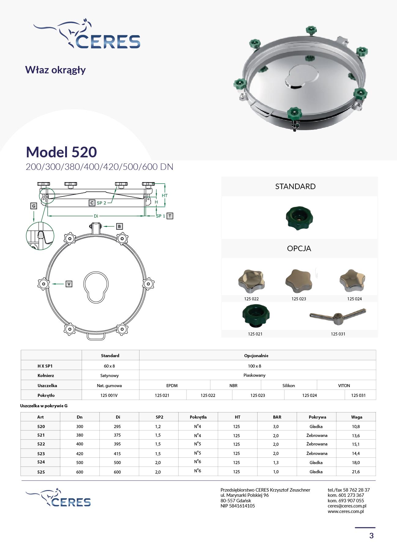MODEL 520