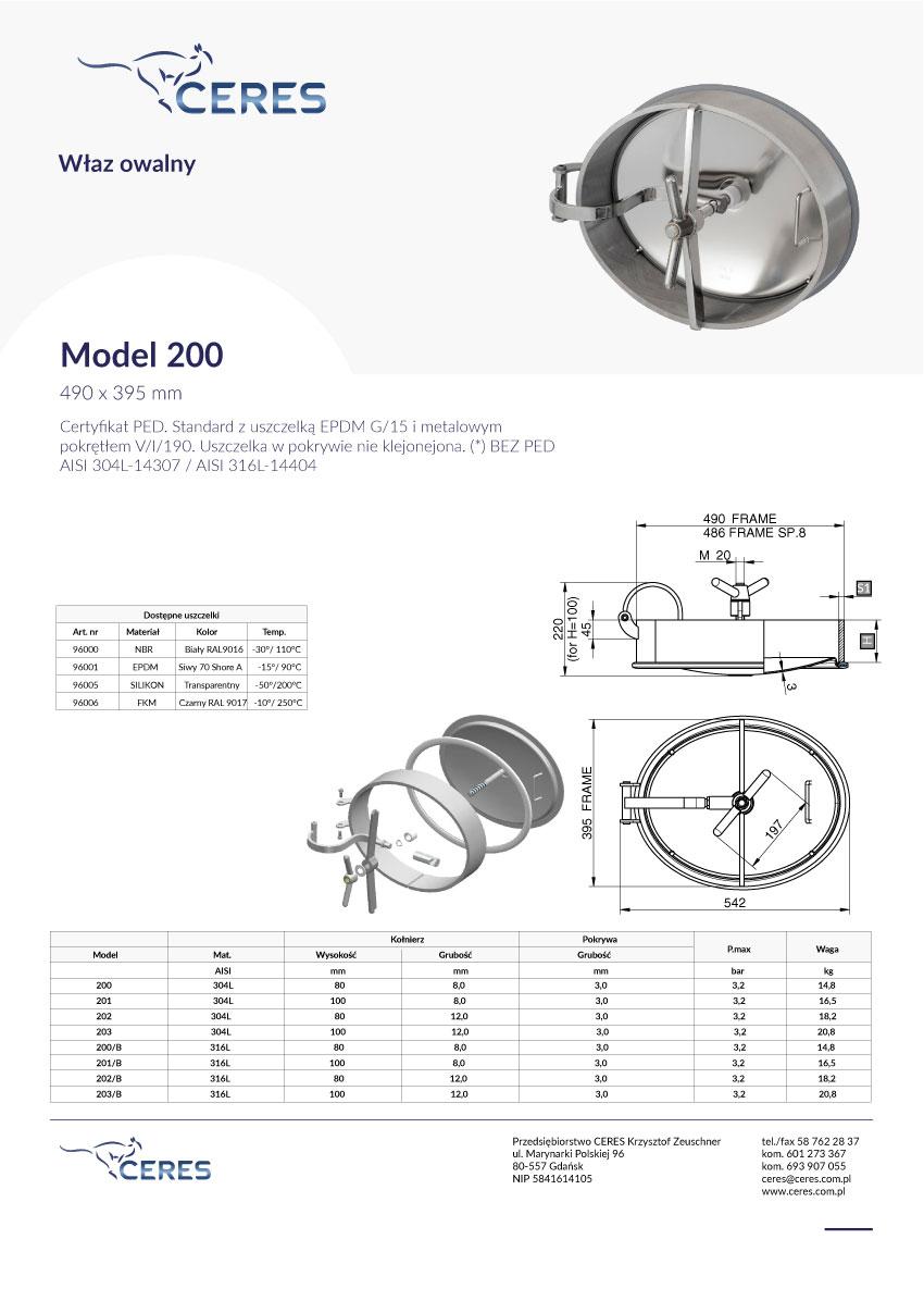 Model-200