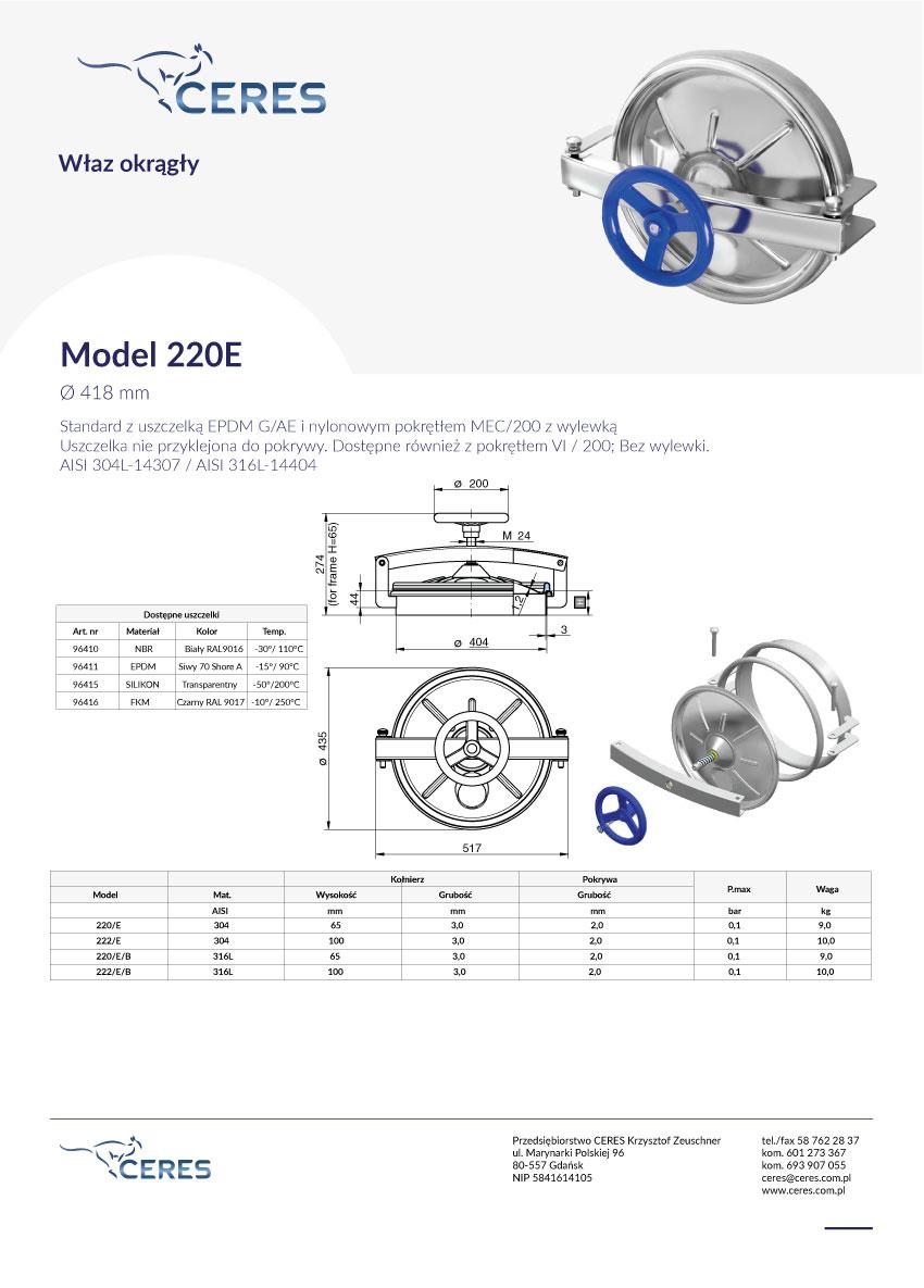 Model-220E