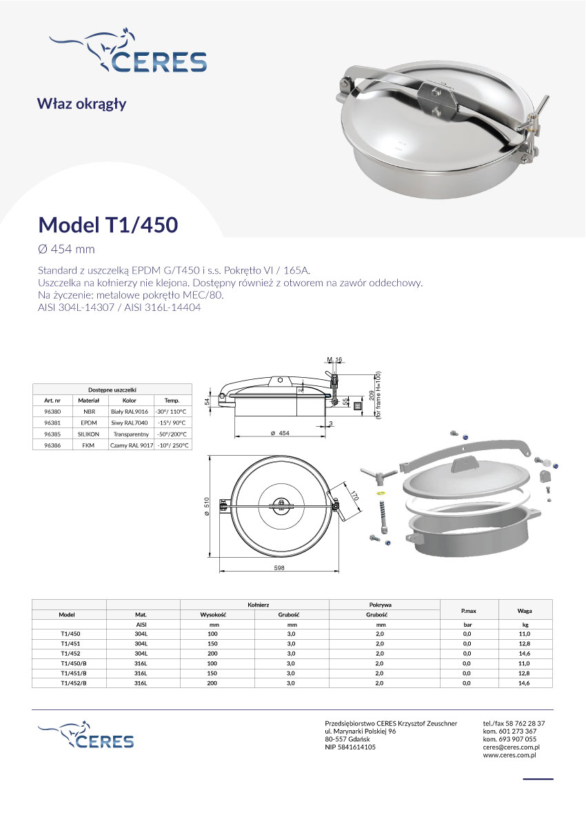 Model-T1450
