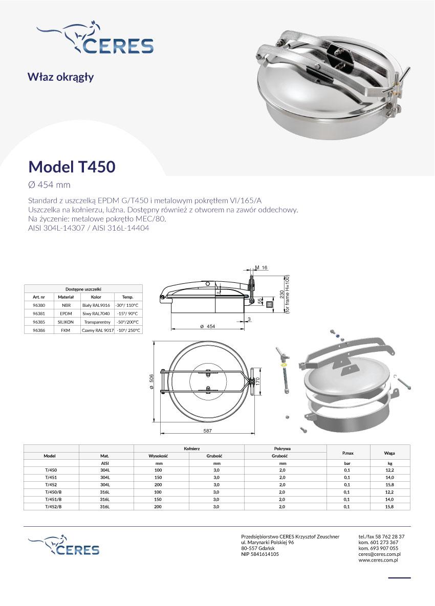 Model-T450