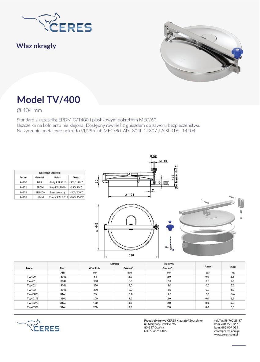Model-TV400