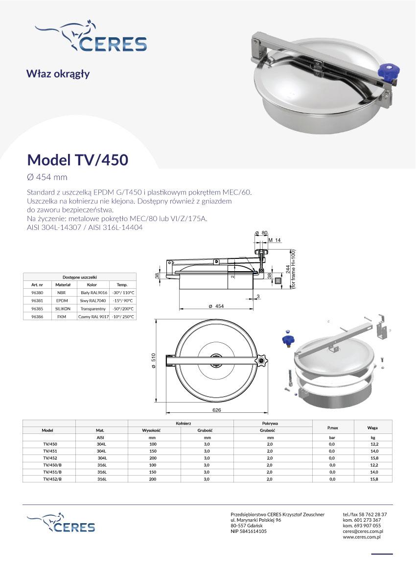 Model-TV450