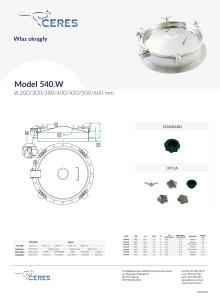 Model540W