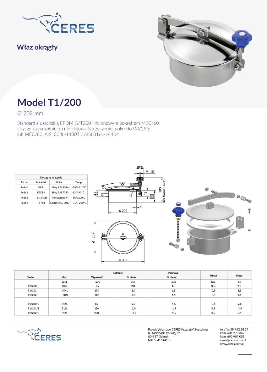 model-T1-200