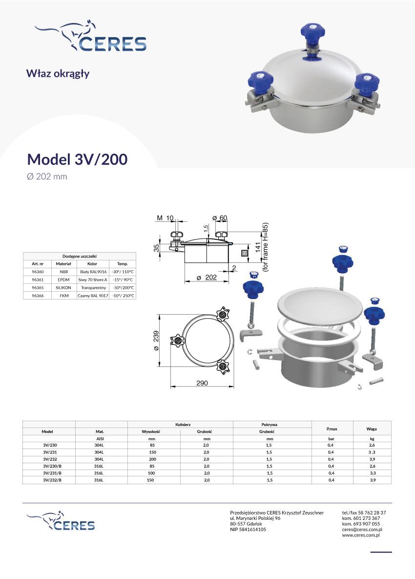 Model-3V-200