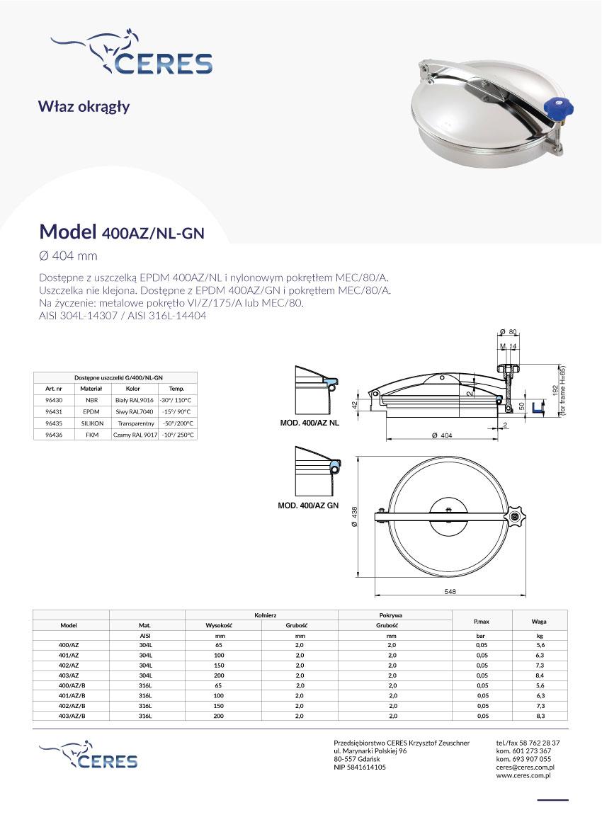 Model-400NL-GN