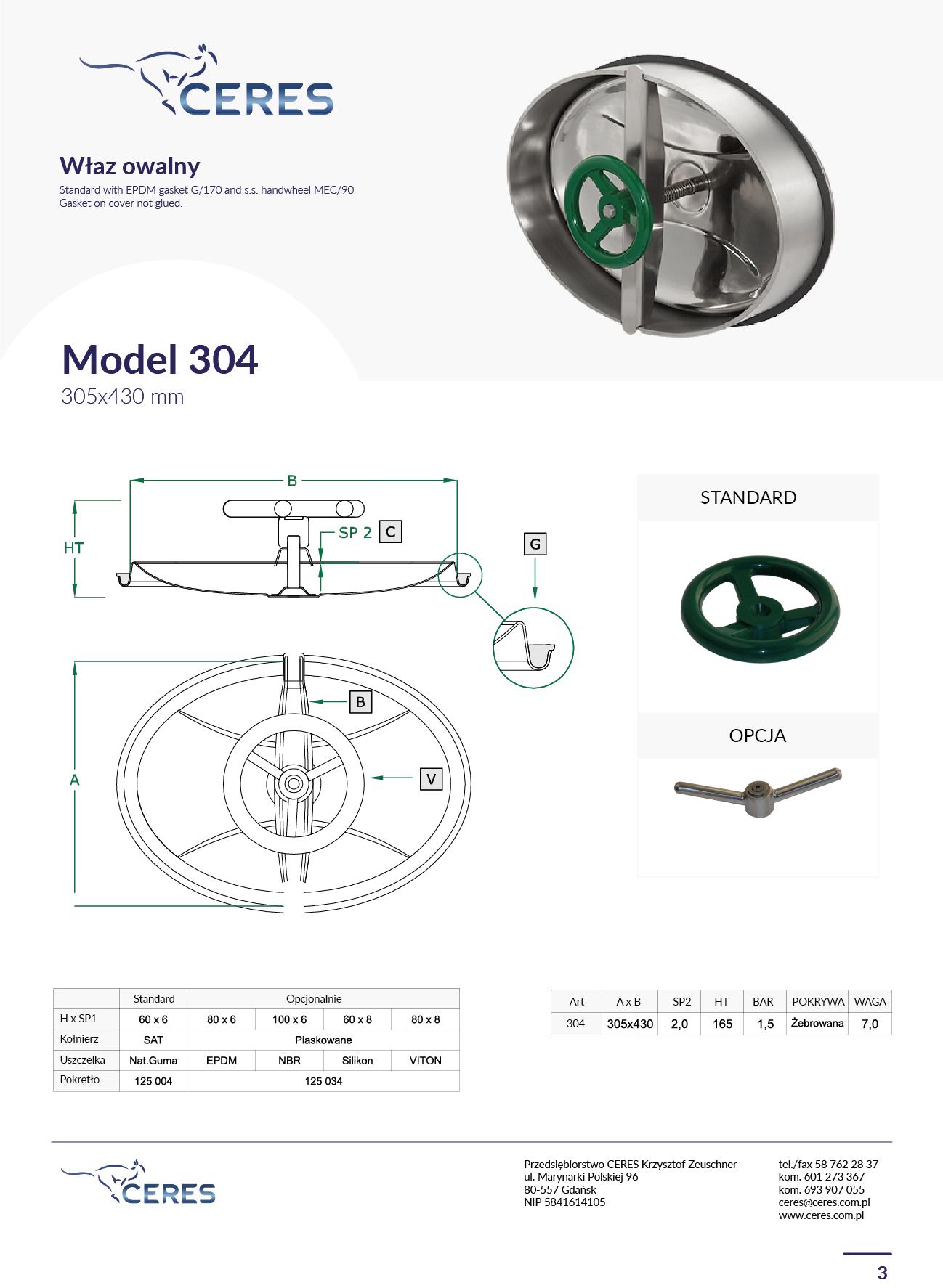 MODEL 304