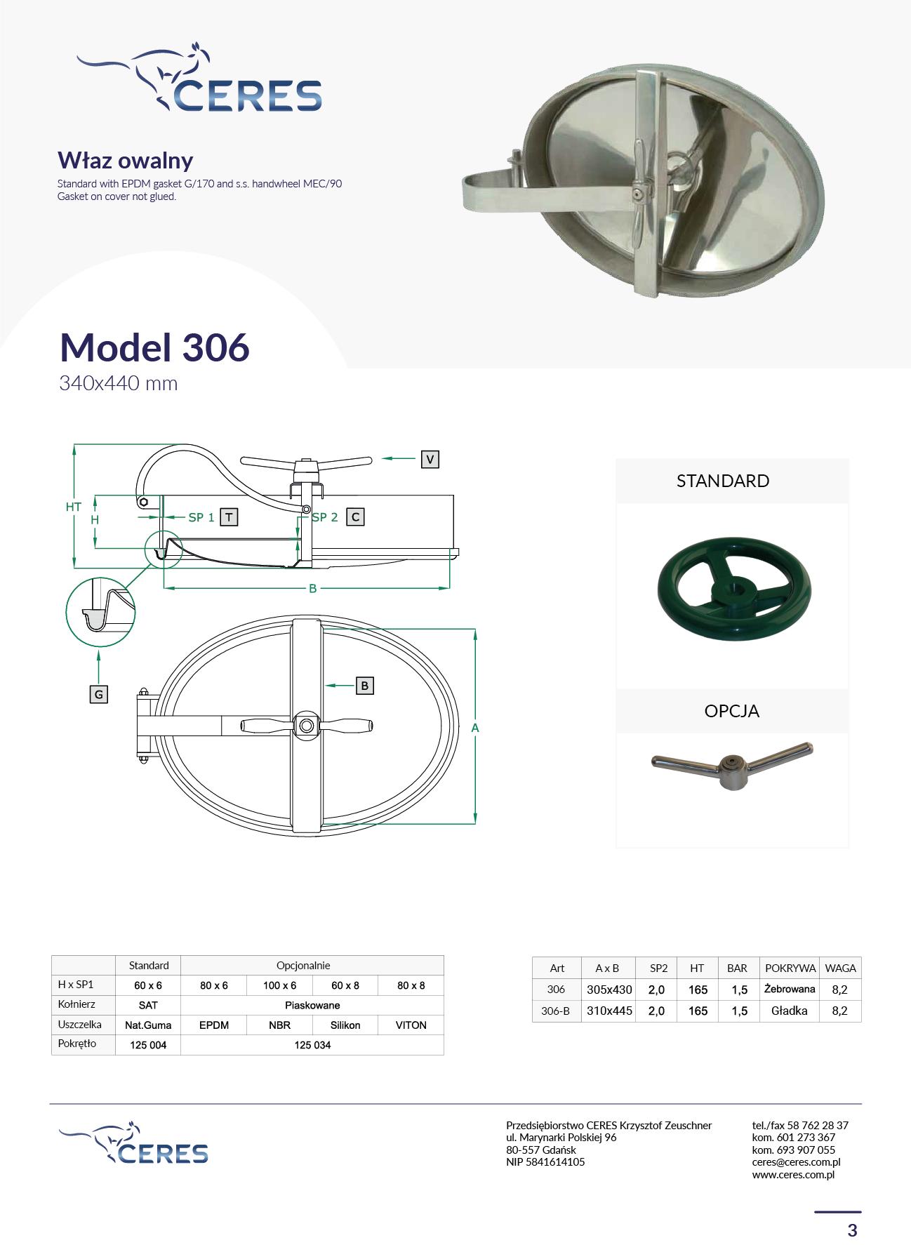 MODEL 306