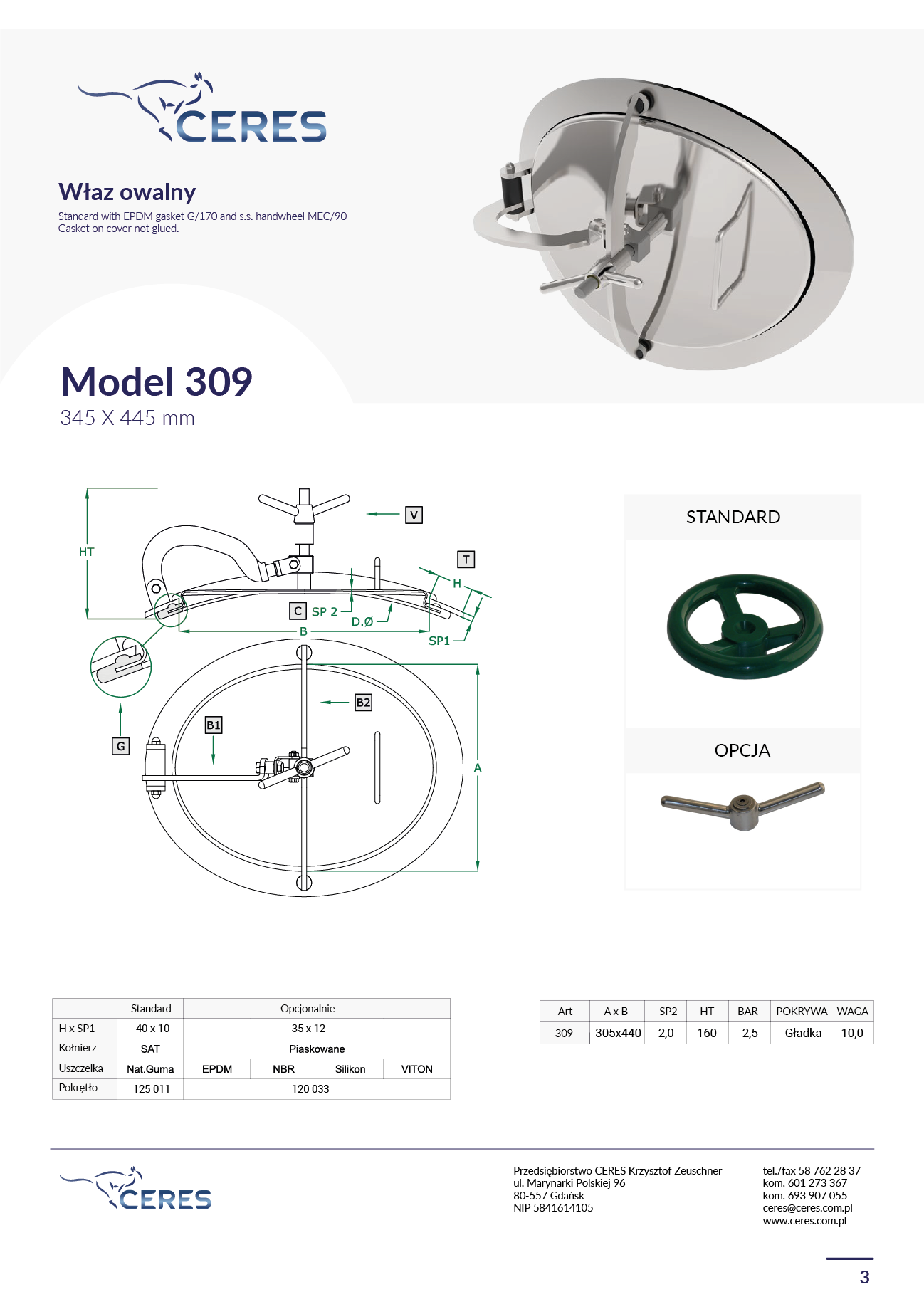 MODEL 309