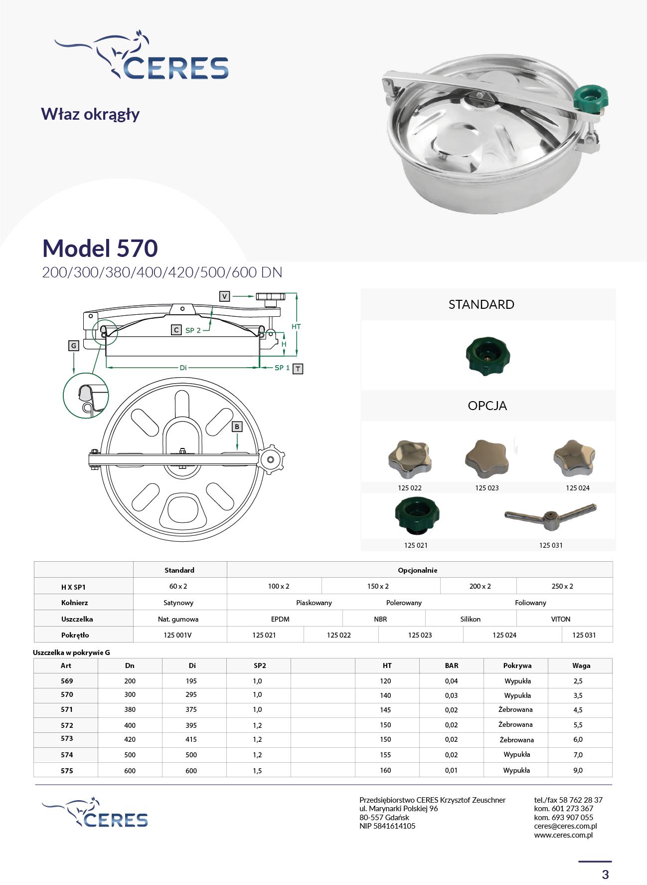MODEL 570