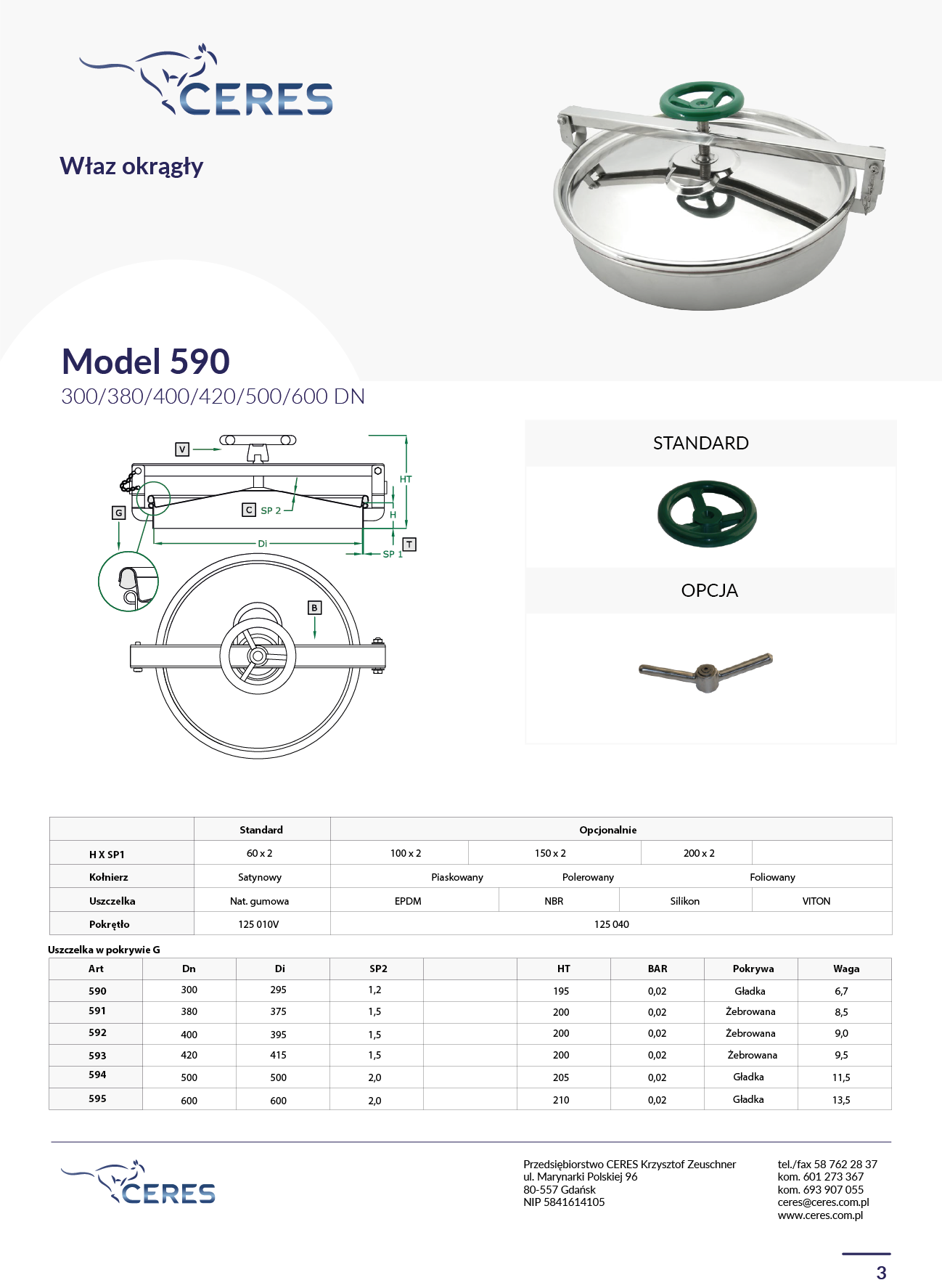 MODEL 590