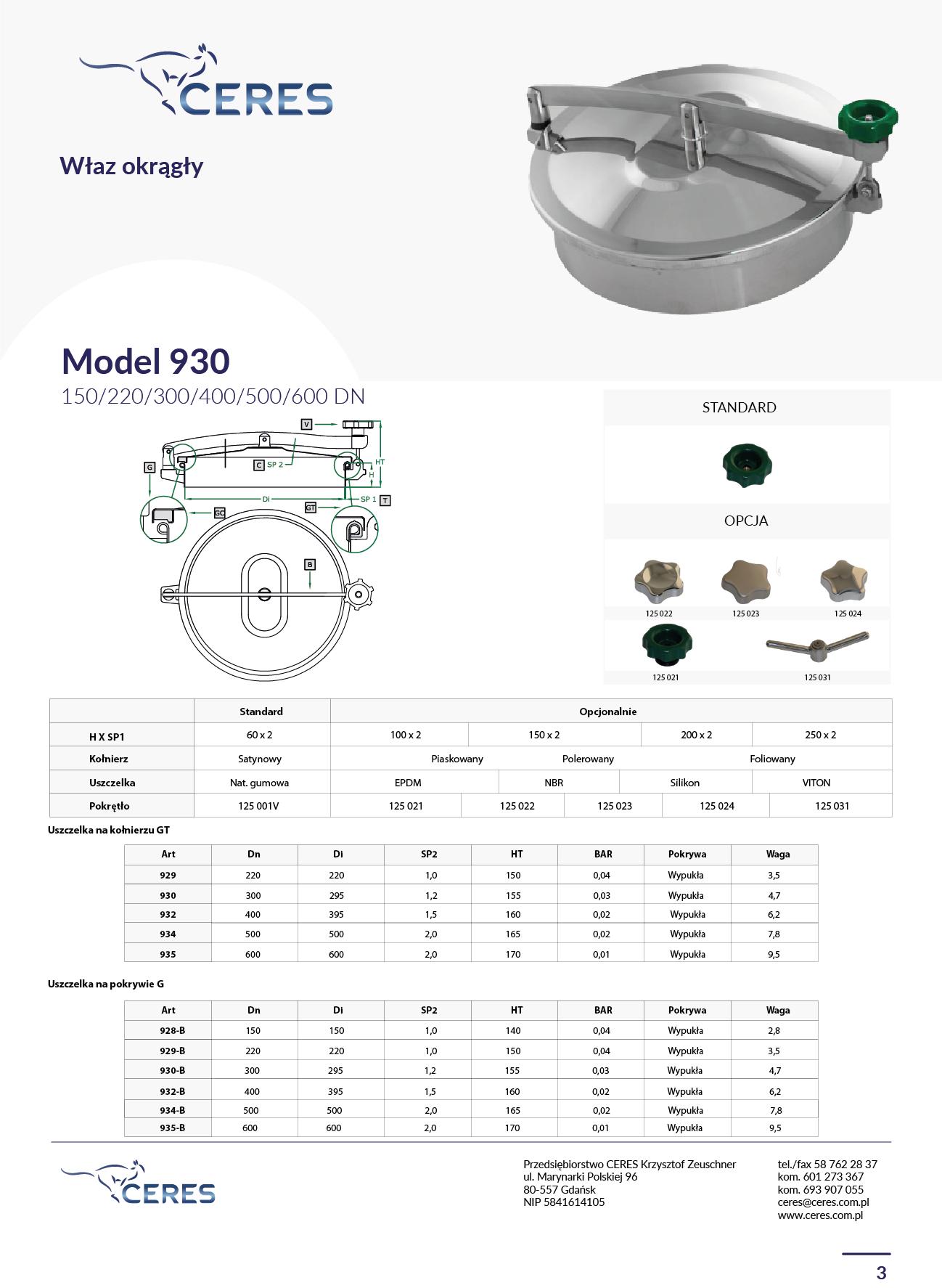 MODEL 930