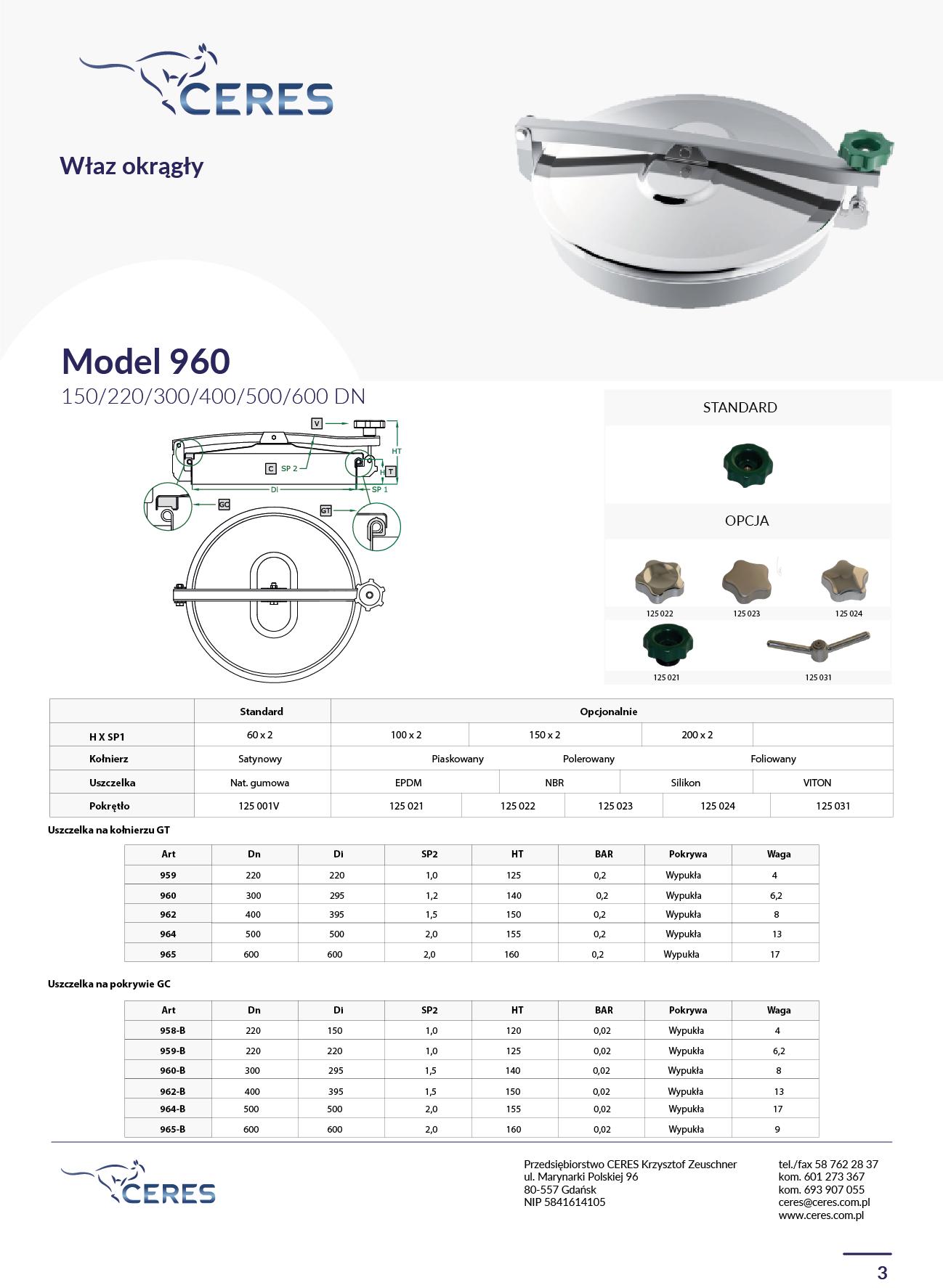 MODEL 960