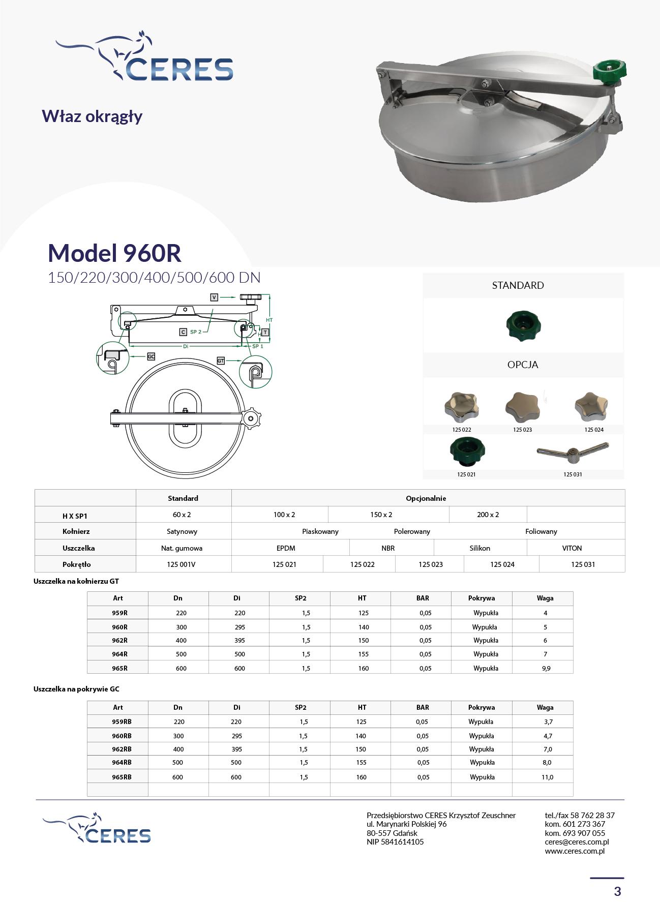 MODEL 960R