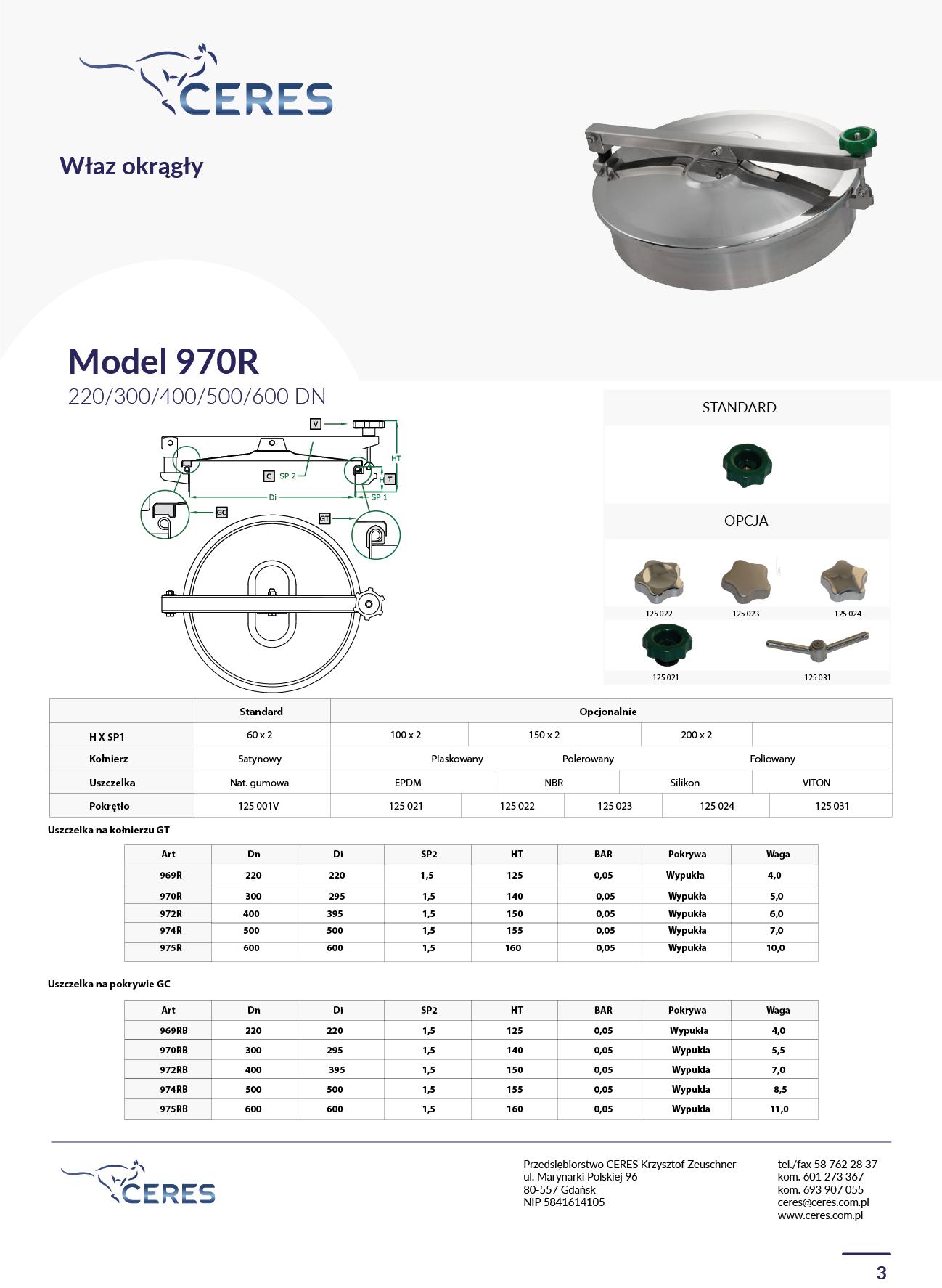 MODEL 970R