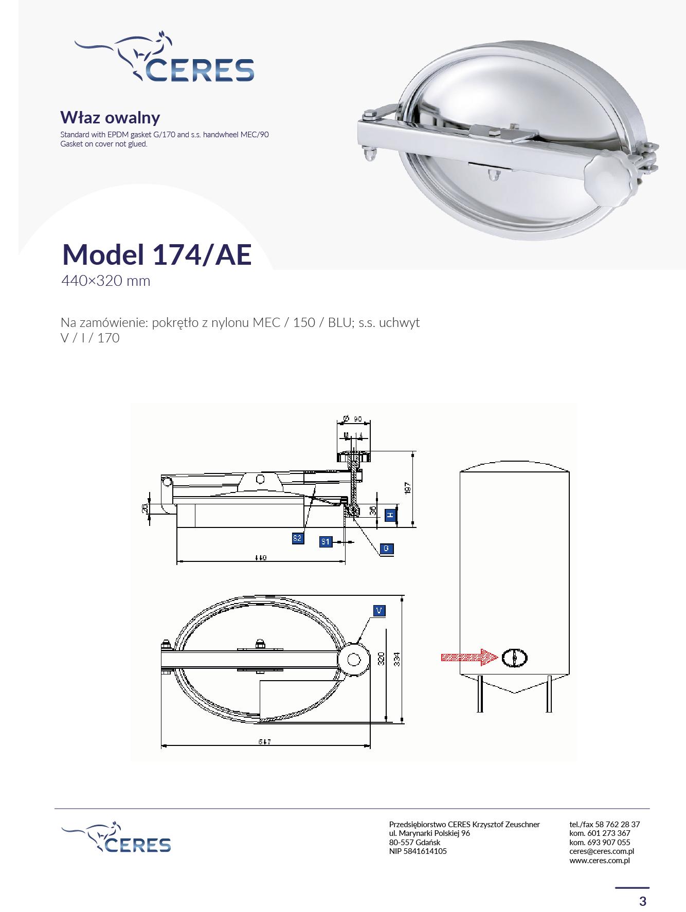 Model 174 AE