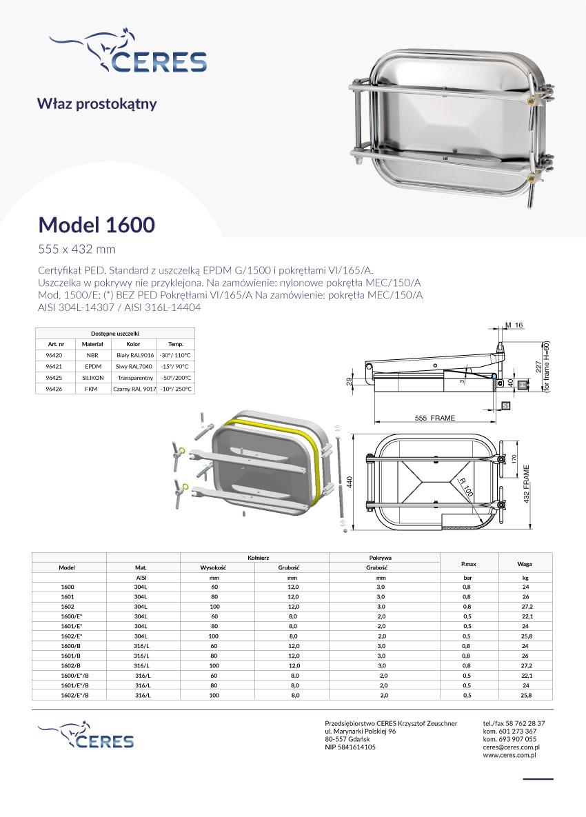 Model-1600