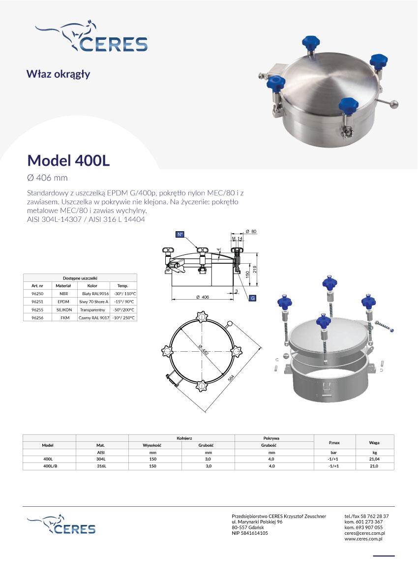 Model-400l