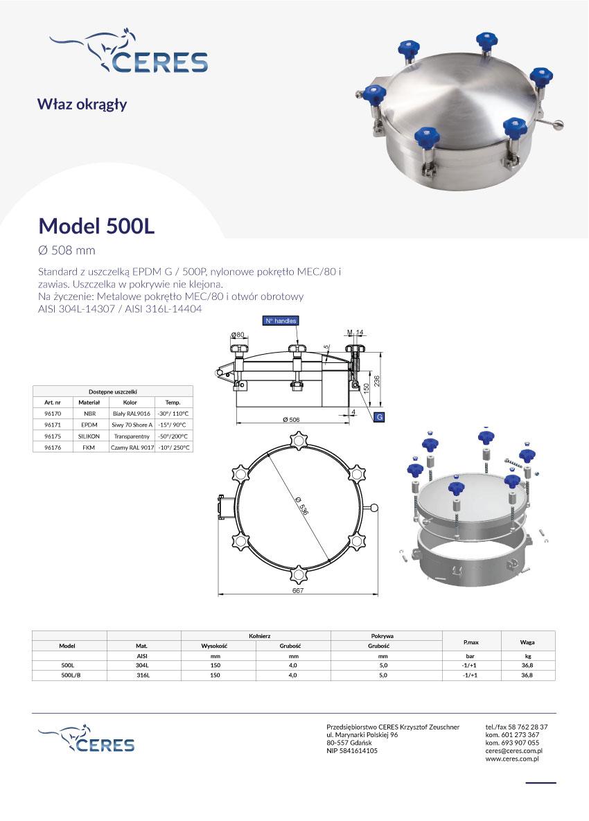 Model-500L