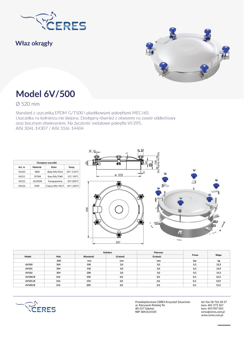 Model-6V500