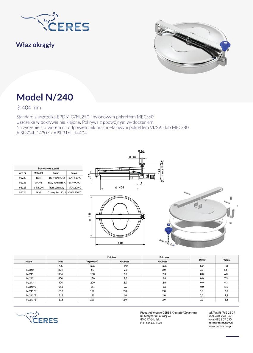 Model-N240