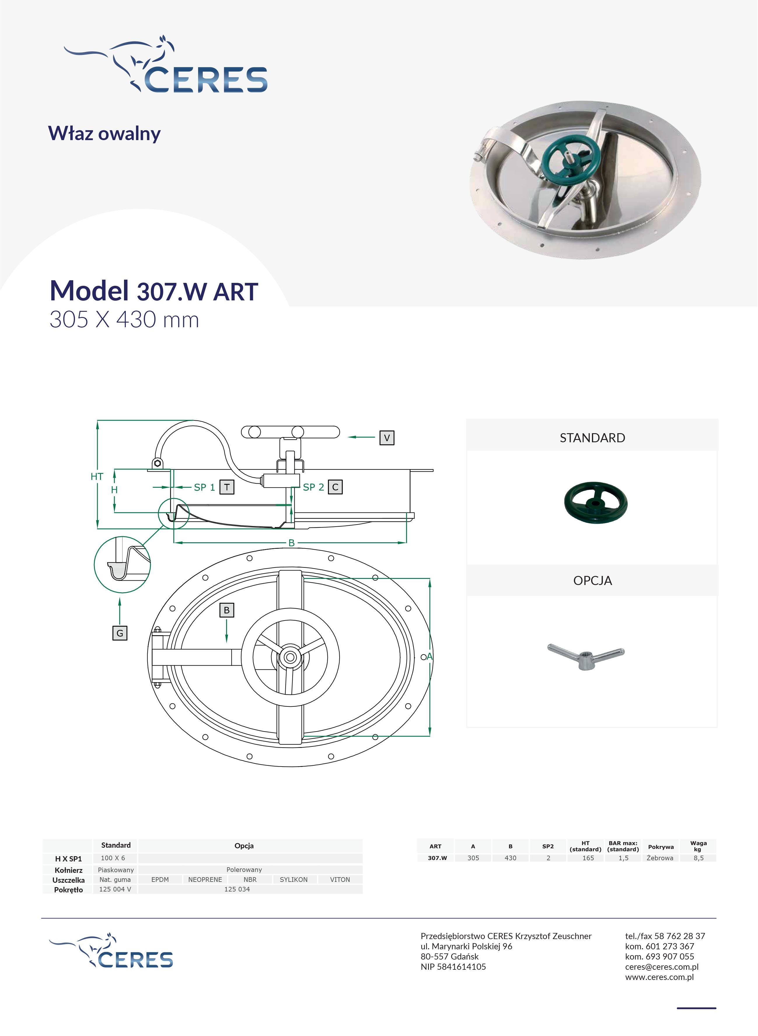 Model307w
