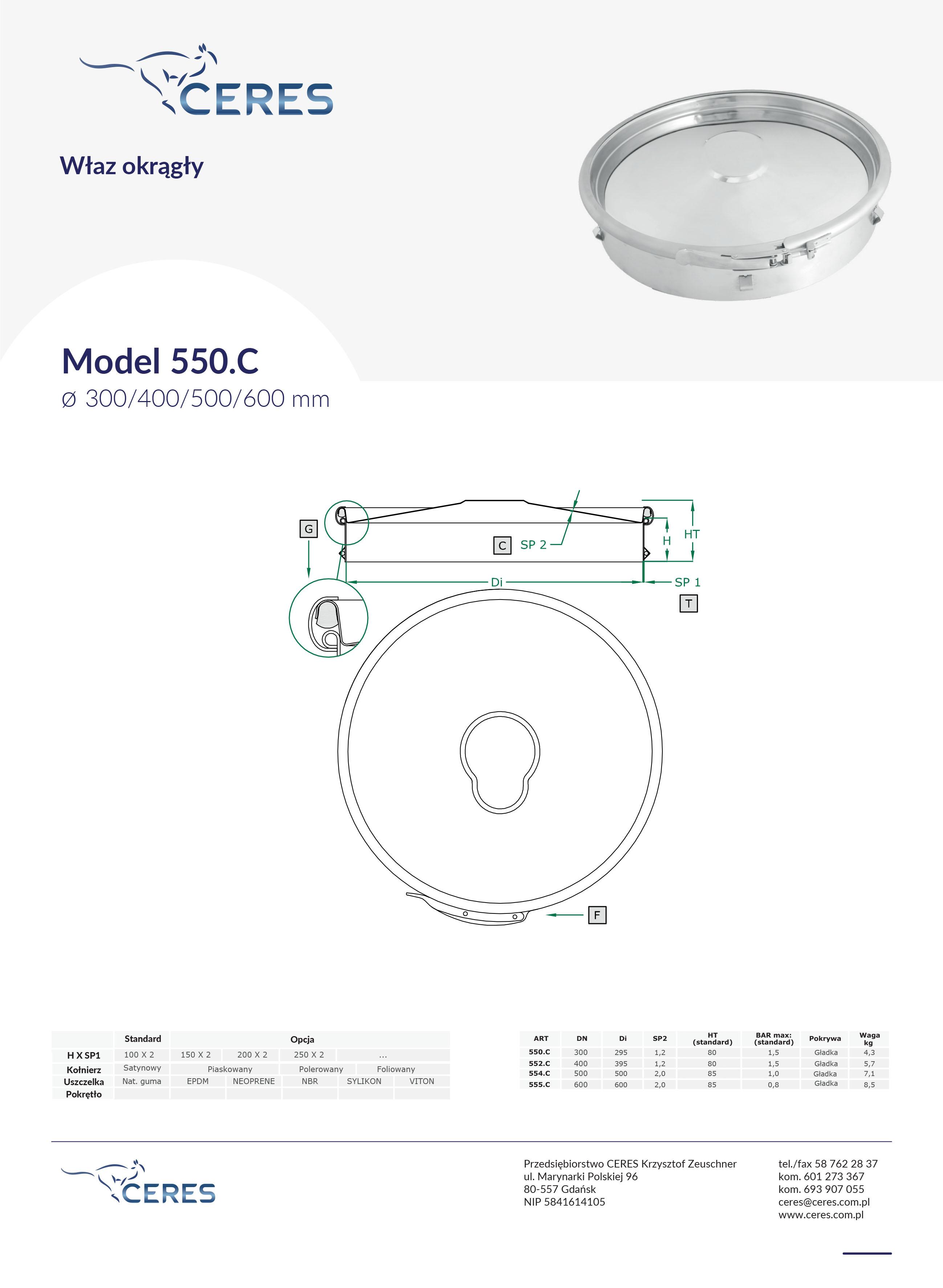 Model550C