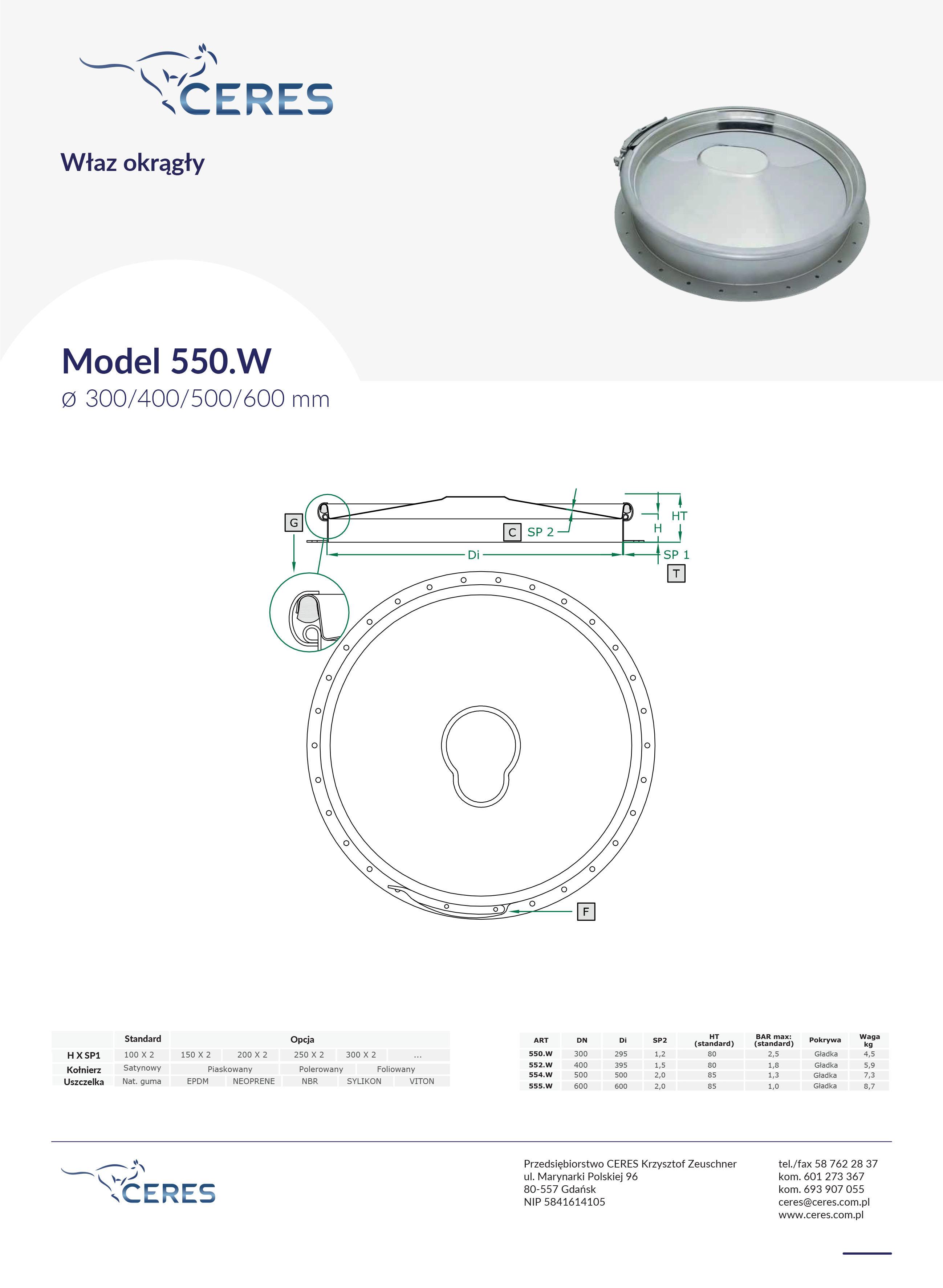 Model550W
