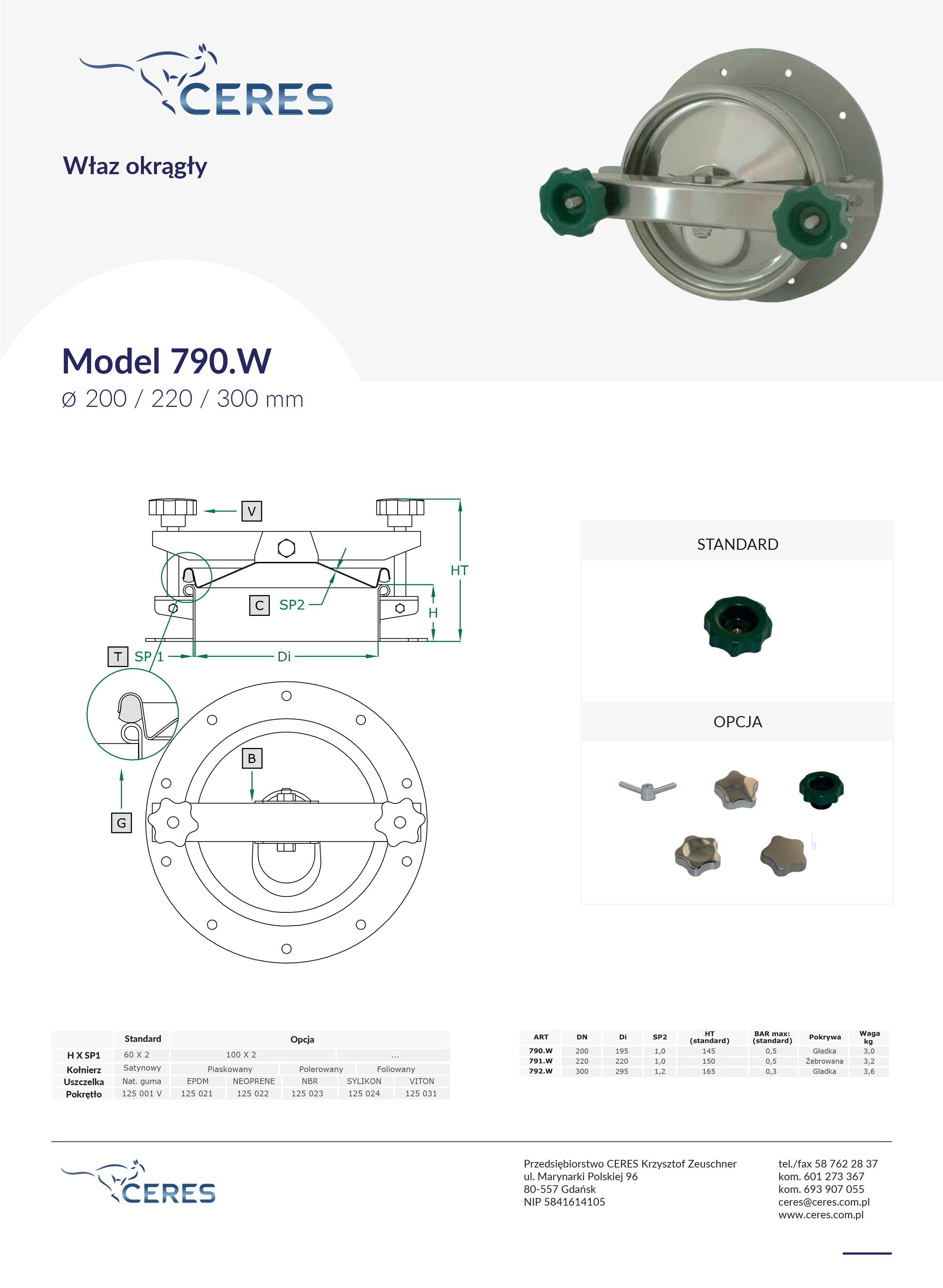 Model790w